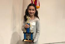 Lake County Spelling Bee winner
