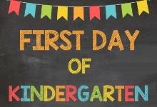 1st kinder