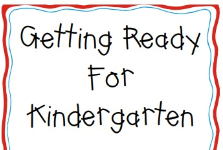 Kindergarten Parent Informational Video