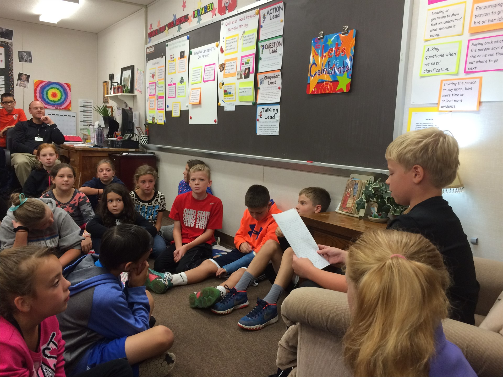 5th Grade Writing Celebration - Mrs. Tinney