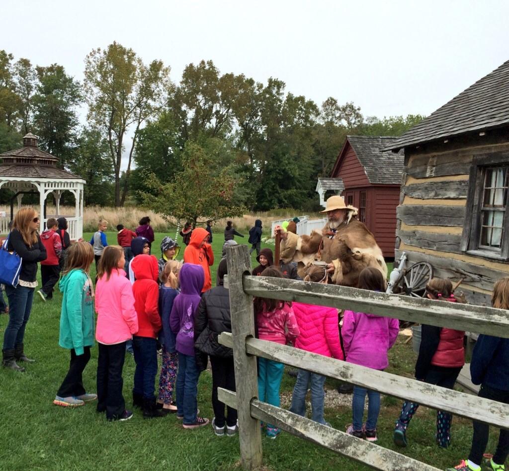 3rd Grade trip to Pioneer Village!