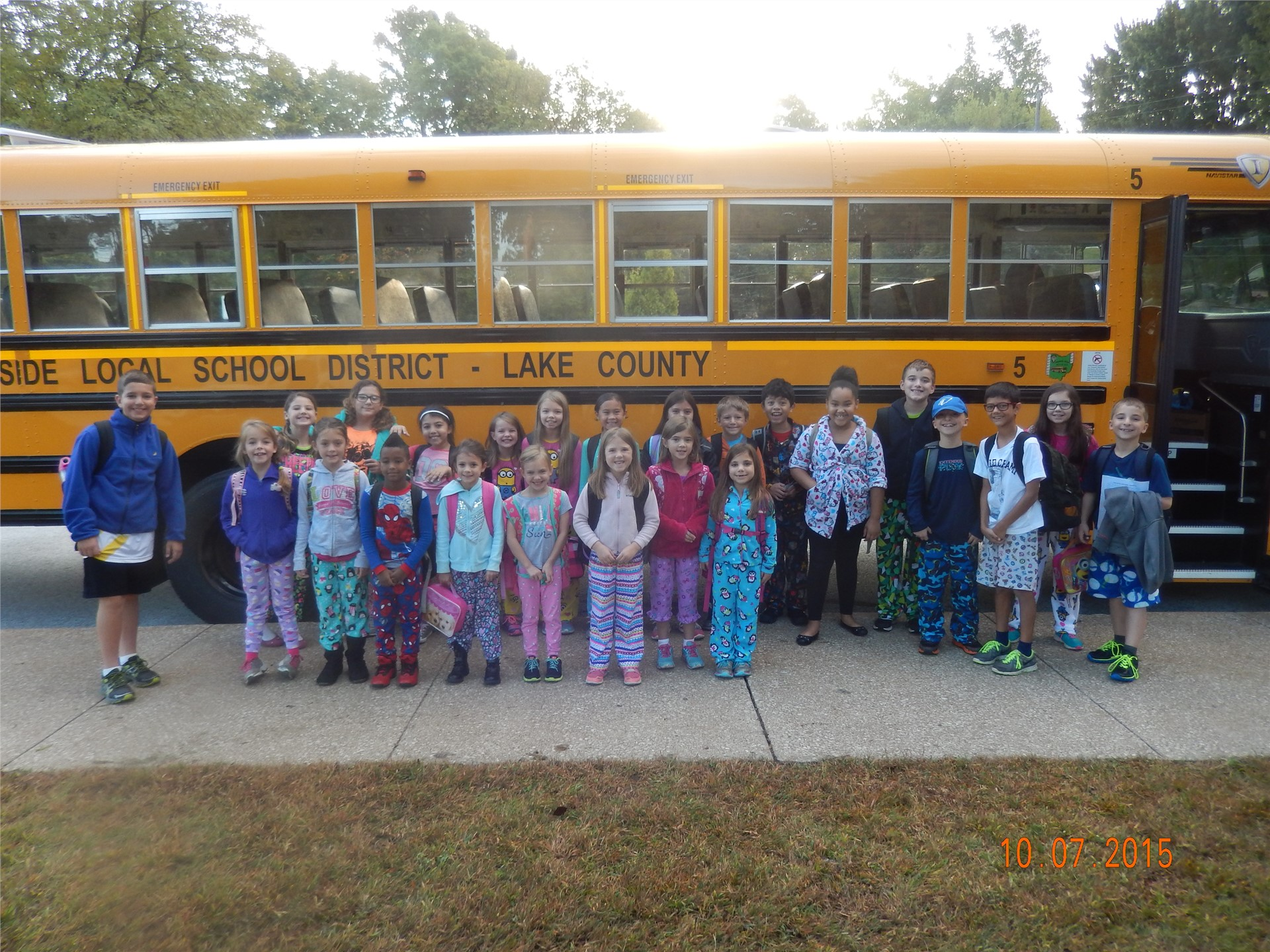 Spirit Week - Pajama Day!