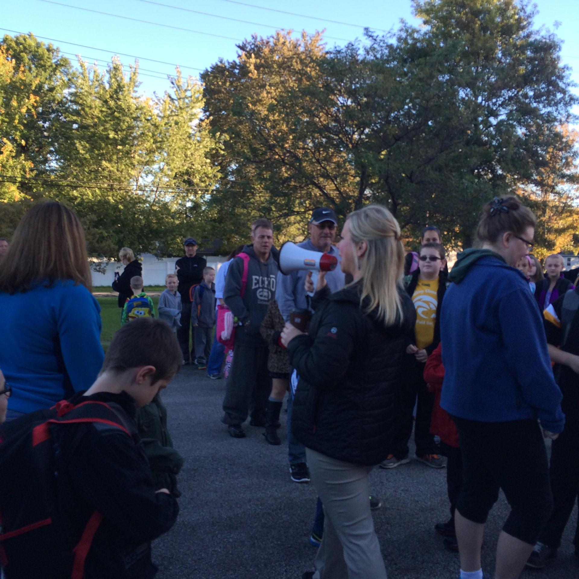 National Walk to School Day