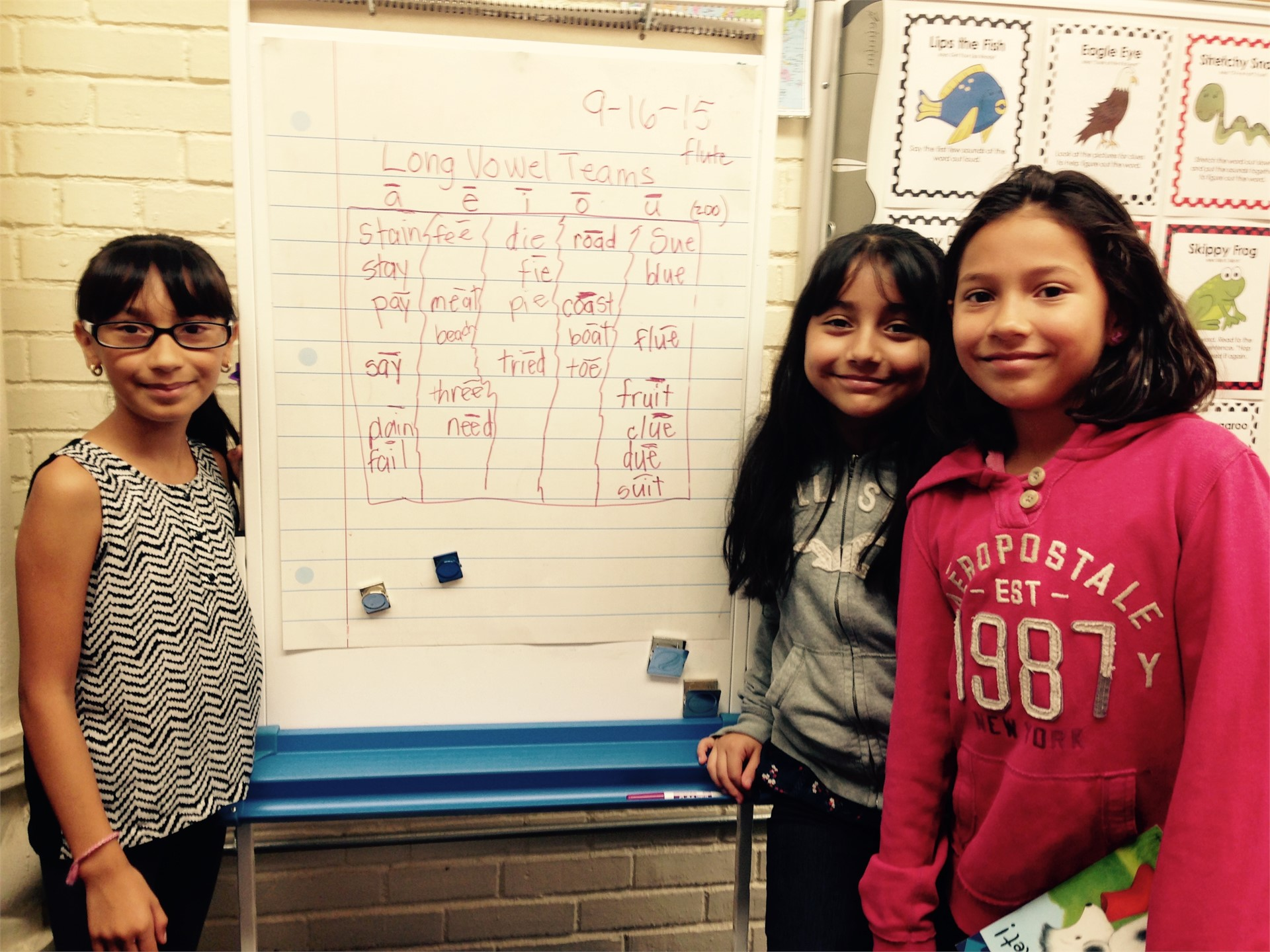 Long Vowel Teams