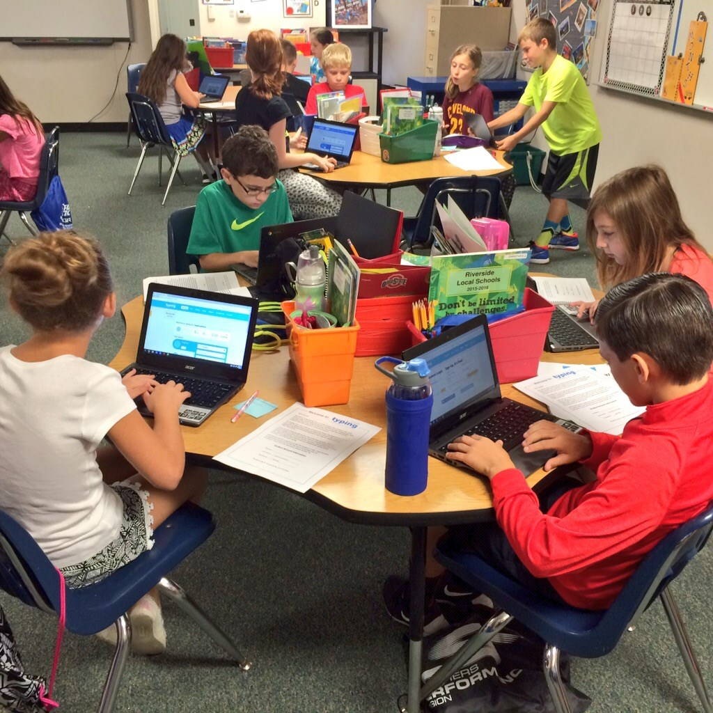 Chromebooks in 5th Grade!