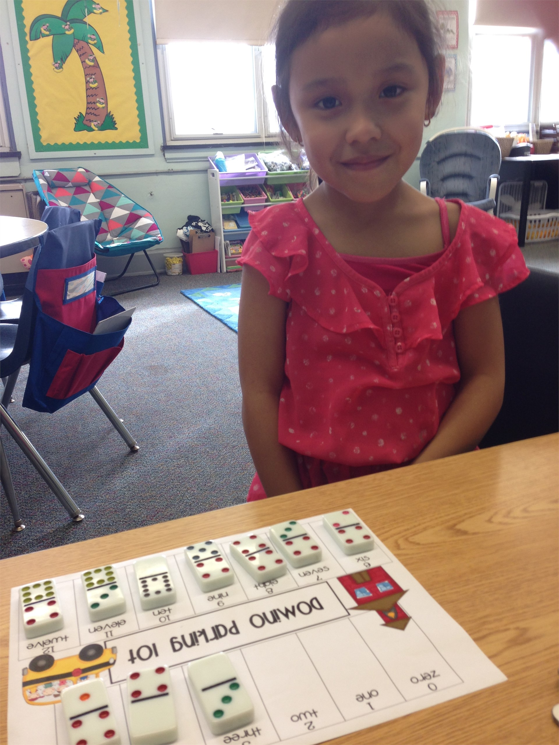 Counting Dominoes Kindergarten