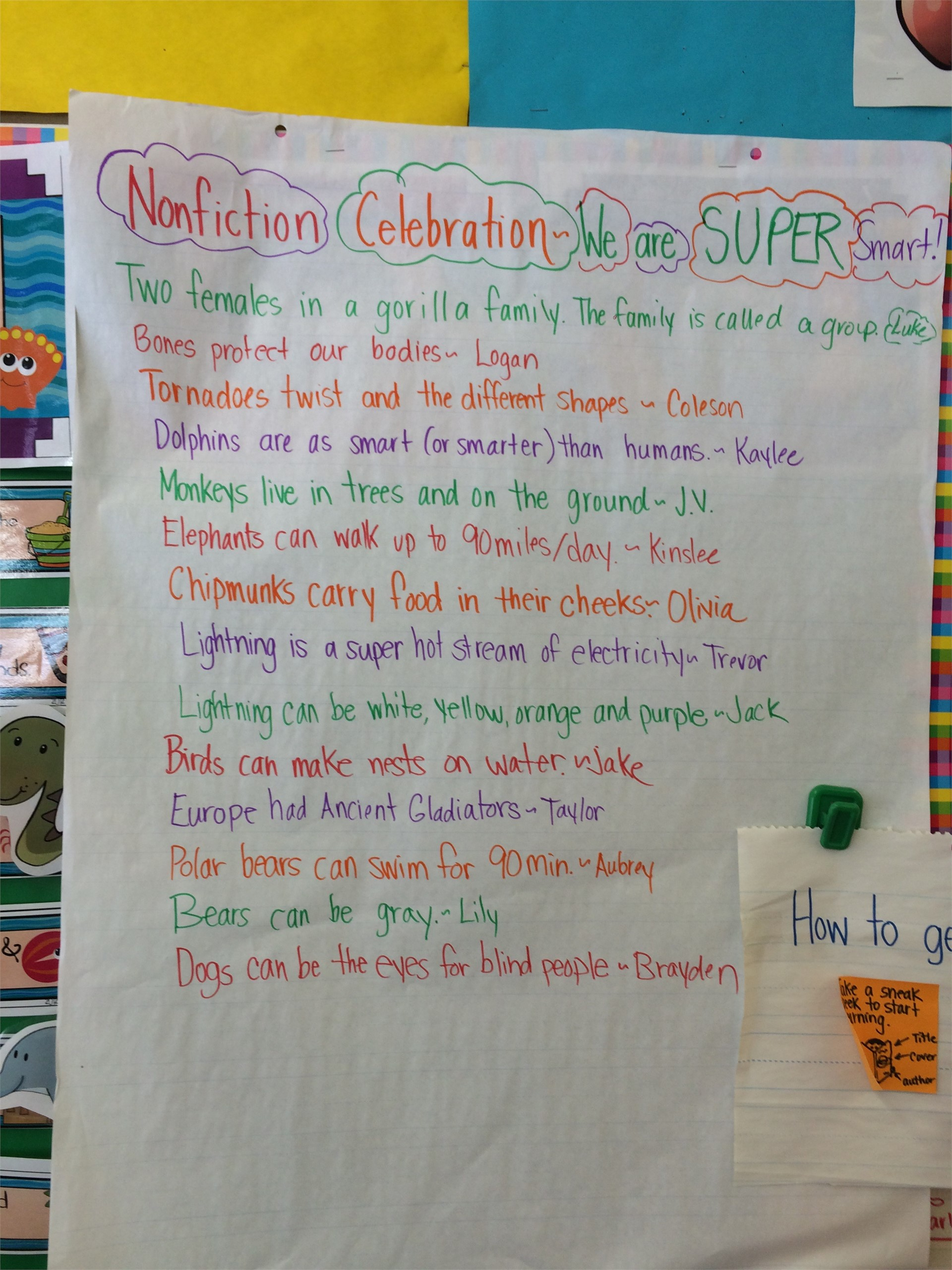 We can learn so much from nonfiction reading!