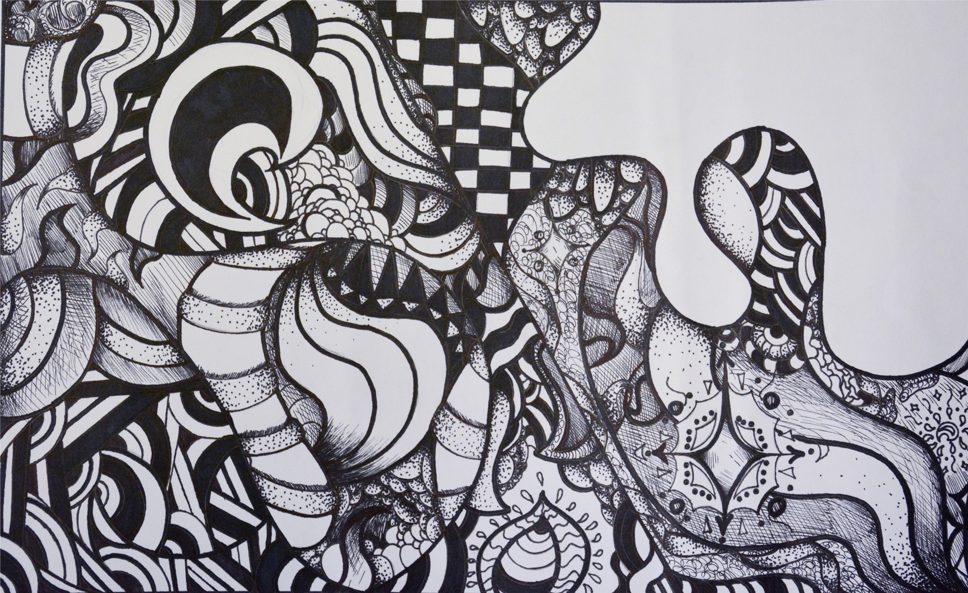 Alyssa Grooms- Zentangle