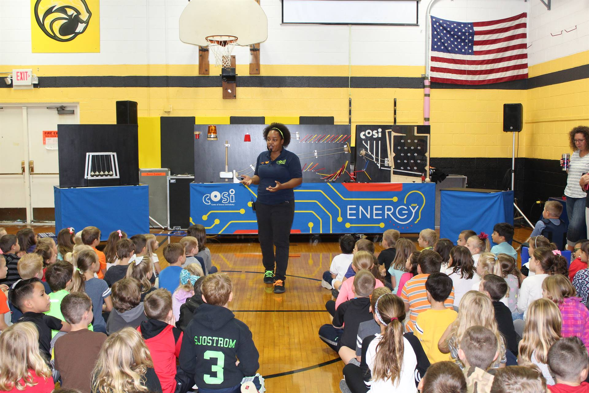 The Science of Energy: COSI Comes to Leroy