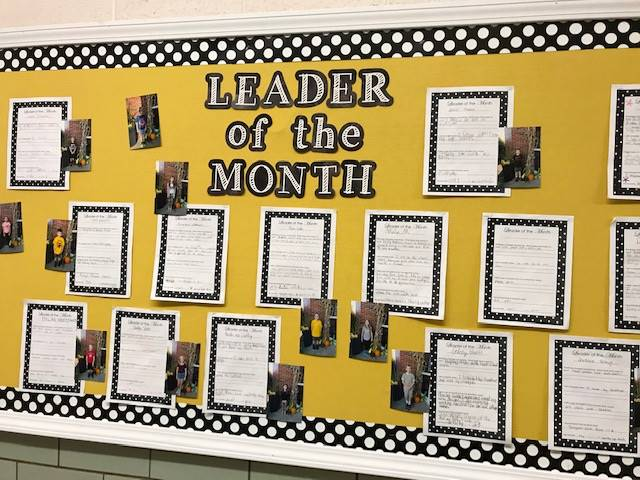 Leader of the Month