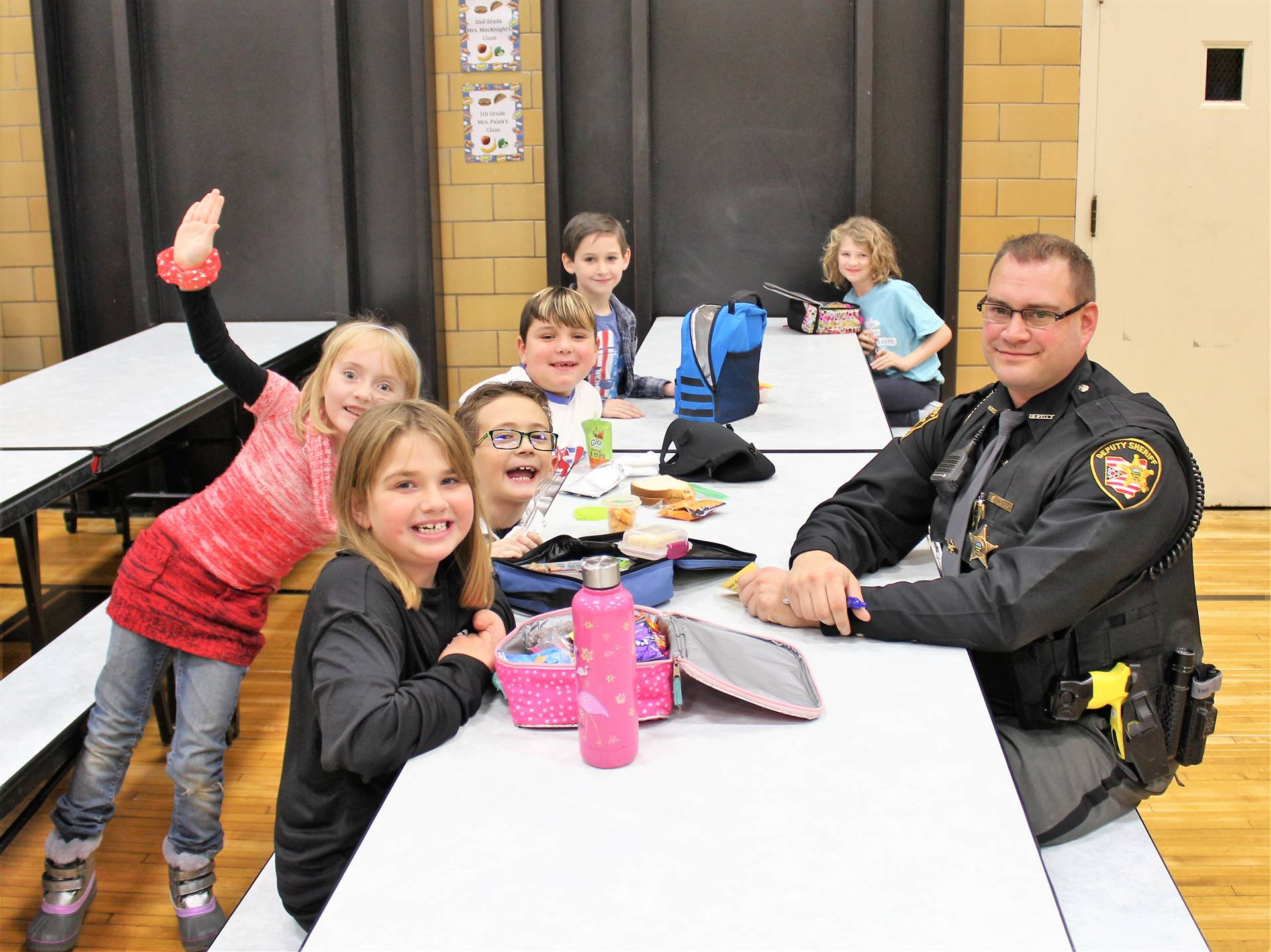 Lunch with Deputy Eisenberg