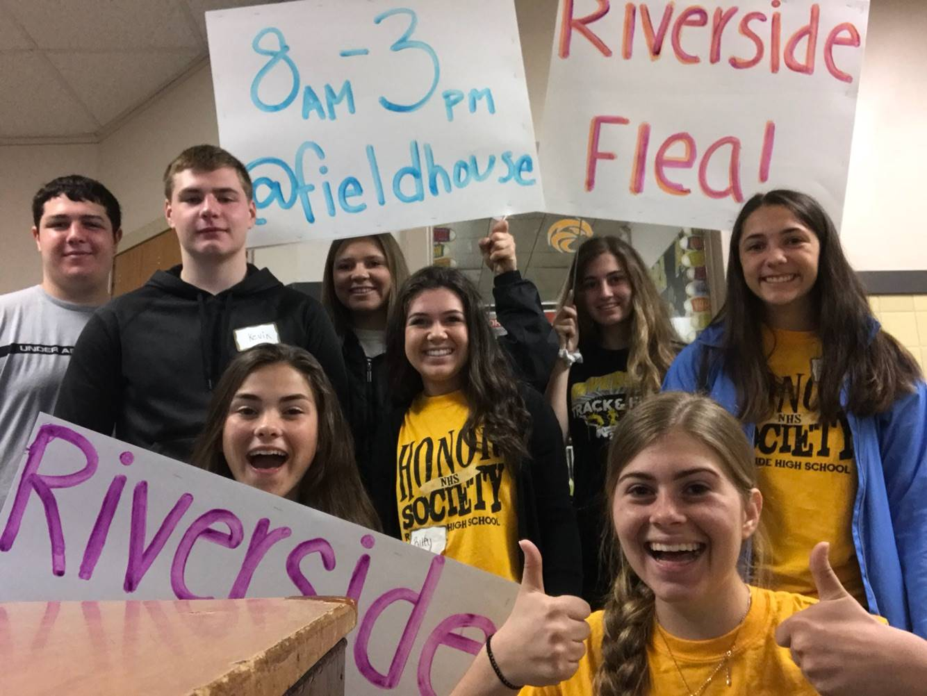 Riverside Flea Volunteers