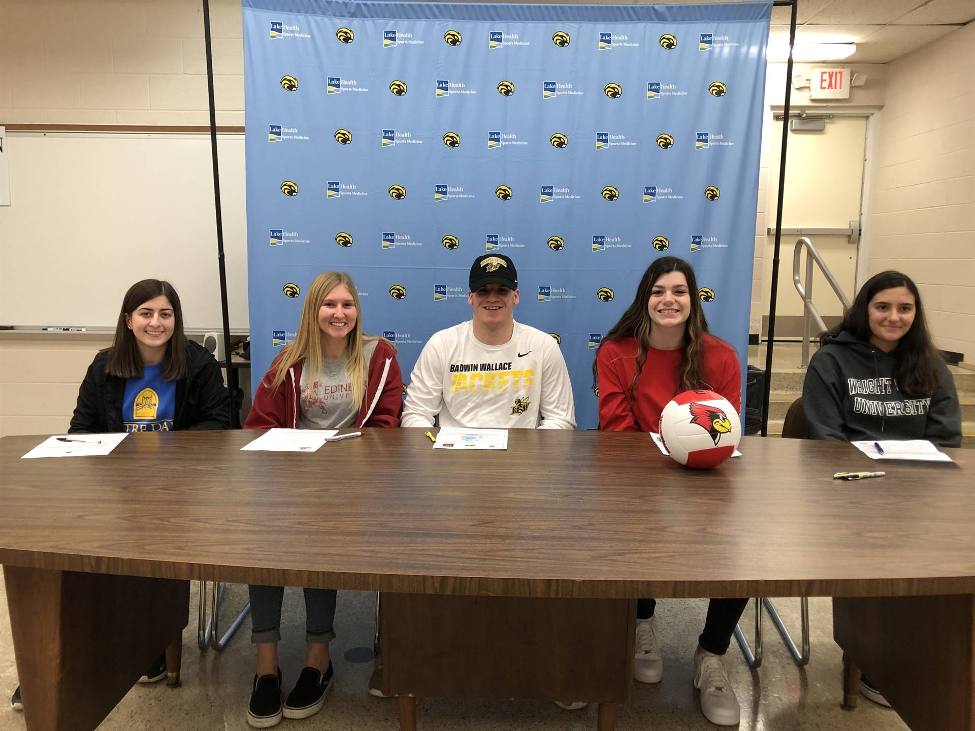 Athletes Sign Letter of Intent